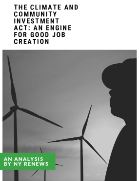 The Climate and Community Investment Act: An Engine for Good Job Creation